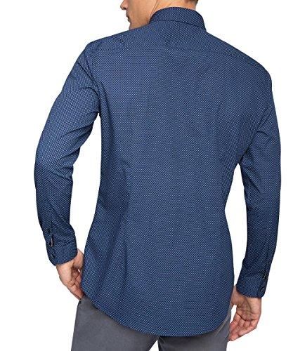 Esprit 076eo2f005, Chemise Business Homme Bleu (NAVY 400)