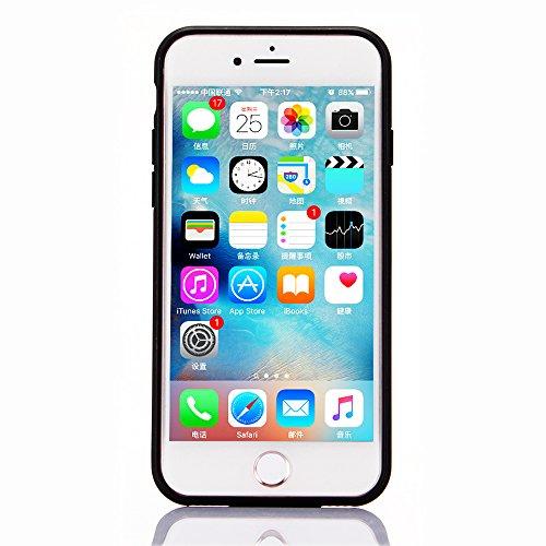 """Coque pour Apple iPhone 6Plus/6sPlus 5.5""""(NON iPhone 6/6s 4.7""""), CLTPY Placcatura Housse dans Doux Dual Layer Silicone Plastic Etui Protection Case Coquille pour iPhone 6Plus,iPhone 6sPlus + 1x Stylet Rouge Foncé"""