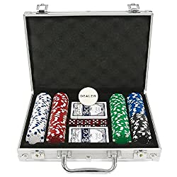 AK Sport 111639-200SS - Poker Set I Alukoffer, 200 Chips