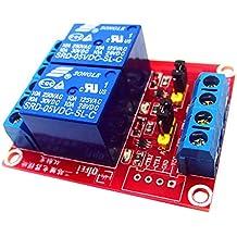 MagiDeal Channel Relay Module Disparador de Nivel H/L para Arduino Frambuesa Pi Accesorio 12V