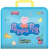 Aquadoodle Peppa Pig Doodle Travel Water Doodle Mat, Official TOMY No Mess Colouring & Drawing Game, Suitable for Toddlers and Children - Boys & Girls 18 Months, 2, 3, 4+ Year Olds
