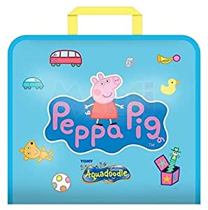 Aquadoodle Peppa Pig Doodle Travel Bag  Mess Free Drawing Fun for Children ages 18 months+