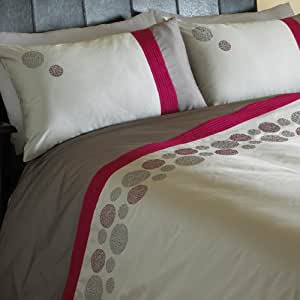 paoletti bettw sche set bel air inkl spannbettlaken baumwolle bestickt double doppel. Black Bedroom Furniture Sets. Home Design Ideas