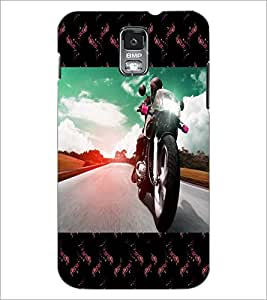 PrintDhaba Bike D-6040 Back Case Cover for SAMSUNG GALAXY S5 (Multi-Coloured)