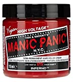 Manic Panic, Crema de Color Semipermanente, Inferno