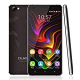 OUKITEL C5pro 5 Zoll Smartphone 16GB ROM Touch Screen Handy MTK6737 Viererkabel-intelligentes Telefon für Android 6.0