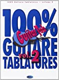100% Guitare Tablatures Volume 2 Guitar Tab Book...