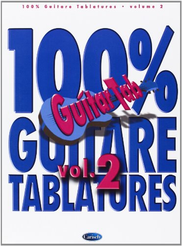 100% Guitare Tablatures Volume 2 Guitar Tab Book
