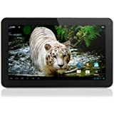 "Yarvik Noble Tablette tactile 10"" (25,40 cm) Cortex A9 1.3 GHz 8 Go Android Jelly Bean 4.1.2 Wi-Fi Noir"
