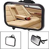 Onemoret Large Wide Baby child Safety Car sedile posteriore specchio retrovisore facilmente regolabile