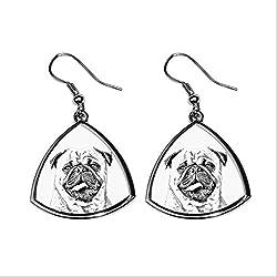 Doguillo, Colección de pendientes con imágenes de perros de raza pura, regalo único