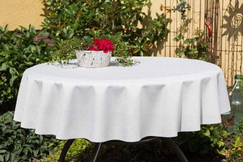 ACRYLBESCHICHTETE Gartentischdecke rund mit Bleiband im Saum, in vielen verschiedenen Größen,...