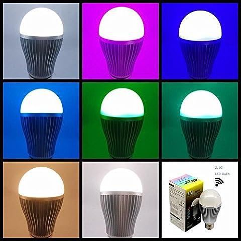 Modylee Telefono controllo luci colorate led lampadina remoto intelligente . rgbw remote control . e27