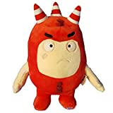 Oddbods Large 30cm Plush Soft Cuddly Toy Newt Bubbles Pogo Zee Jeff Fuse Slick (Red) …