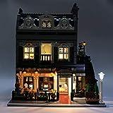 TETAKE Lumières LED Éclairage pour Lego Restaurant Parisien - 10243 (Lego Modèle Non Incluse)...