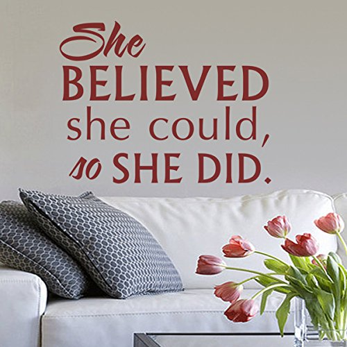 she-believed-she-could-so-she-did-inspiration-wall-decal-motivational-quote-vinyl-wall-sticker-wall-