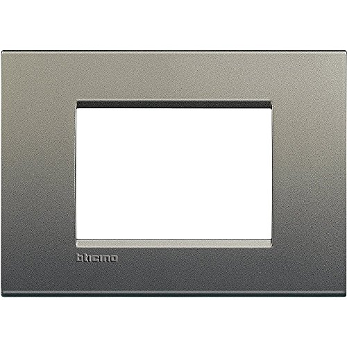 BTicino Living Light LNA4803AE Placca Quadra 3P, Avenue