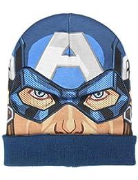 Supereroi Marvel Avengers - Cappello Berretto Premium in Maglia con  Maschera - Bambino - Full Print f9825205e2ad