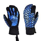 QETU Ski-DREI-Finger-Handschuhe