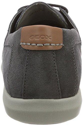 Geox Herren U Yooking A Bootsschuhe Grau (Dk Grey)