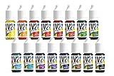 V2 Vape Lebensmittelfarbe extrem hoch konzentriert, flüssig zum Färben von Getränken, Teig, Toppings und alle anderen Lebensmittel