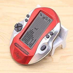 DZSF Retro-Klassiker Tetris Handheld Game-Spieler Kindheit Elektronische Spiele Spielzeug LED Spielkonsole Mit in 26 Spielen Eingebaute