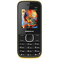 KARBONN K107 STAR DUAL SIM 800 mAh - BLACK YELLOW