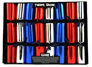 8 Talent Show Game Christmas Crackers
