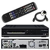 Micro M1 HD+ CI+ digitaler HD Twin Satelliten-Receiver (12 Moante HD+, Twin-Tuner, 1x CI+, HDMI, Ethernet, USB 2.0, PVR-Ready, Smart TV) schwarz
