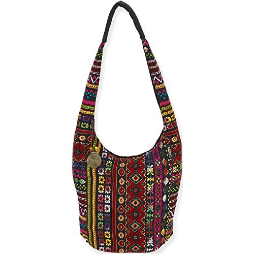 laurel-burch-catori-soft-hobo-tote-10-x-6-x-13-tangiers-red