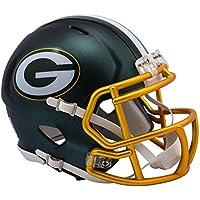 Riddell Bay Packers Blaze Speed Casco, Verde, Mini