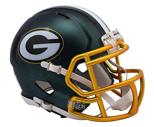 "Riddell"" Green Bay Packers Blaze Speed Mini-Helm"