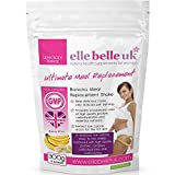 Ultimate Meal Replacement Shake For Women - Delicious Banana Flavoured Low Calorie Slim