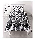 Kinder Star Wars bedruckt wendbar Rotary Single Bettwäsche-Set, Star Wars Awaken Print, 135CM X 200CM