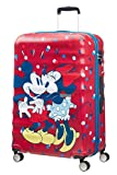 American Tourister - Disney Wavebreaker Spinner 77/28 Bagage cabine, 77 cm, 96 liters, Multicolore (Minnie Loves Mickey)