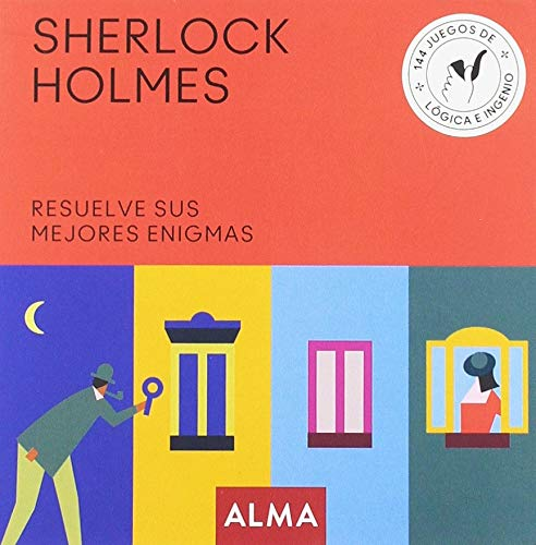 Sherlock Holmes. Resuelve sus mejores enigmas: 25 (Cuadrados de diversión)