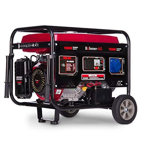 Böhmer AG 8000WE   Grupo Electrógeno Versátil Gasolina