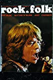 ROCK & FOLK 046 1970 NOVEMBRE COVER MICK JAGGER + POSTER ROLLING STONE RAY CHARLES ALICE ET AME SON JETHRO TULL
