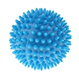 Homyl Yoga Ball Igelball Massageball Massage Gummi Stachelball Reflexball - Hellblau