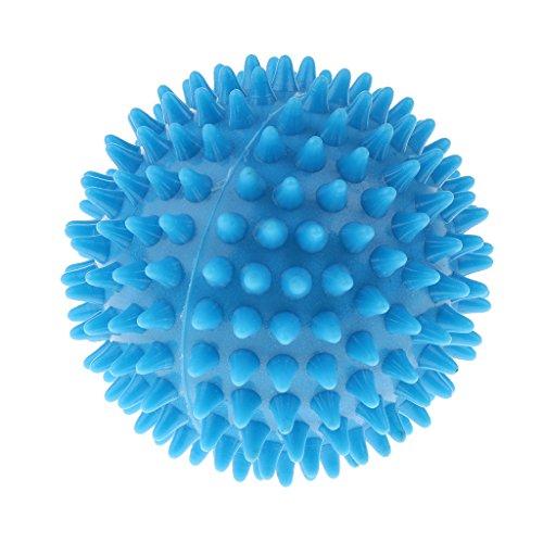 Homyl Yoga Ball Igelball Massageball Massage Gummi Stachelball Reflexball - Hellblau