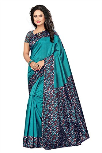 Flosive Women's mysure silk Saree With Blouse Piece (KF-S181071)