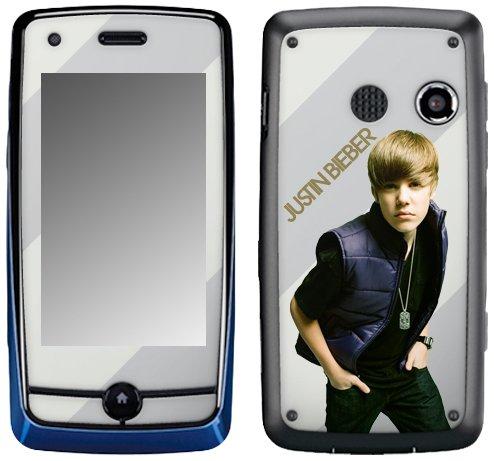 Zing Revolution MusicSkins Schutzfolie, ms-jb10088, Justin Bieber-My World 2.0Farbe, LG Rumor Touch (LN510/VM510), Haut