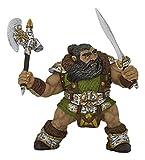 Papo 38997 - Zwerg Krieger mit Axt, Spielfigur