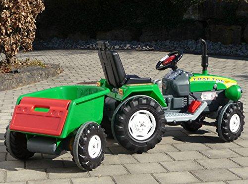 Kinderfahrzeuge Elektro Traktor  mit 2 Motoren Turbo-Speed je 12V Traktor Top Qualität 460319
