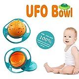 Babies Kids Beste Deals - OurWarm Baby nicht Ölpest Verschütten Fütterung von Kleinkind Schüssel 360° Drehbar Baby Kids vermeiden