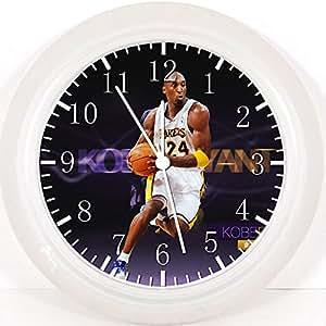Kobe Bryant Horloge murale 25 cm et joli étui cadeau Décoration mural W216