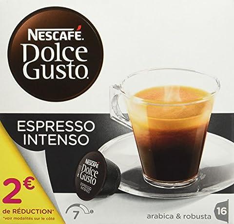Nescafé Dolce Gusto ESPRESSO INTENSO - Café - 16 capsules -128g