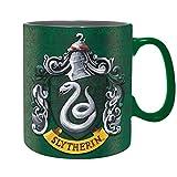 Harry Potter - Slytherin - XXL-Tasse aus Keramik - Füllmenge 460 ml | Original Fan-Artikel