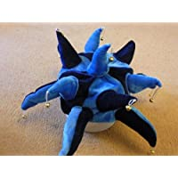 Wycombe Wanderers cappello da giullare per travestimento blu scuro e cielo  blu 795729ba449b