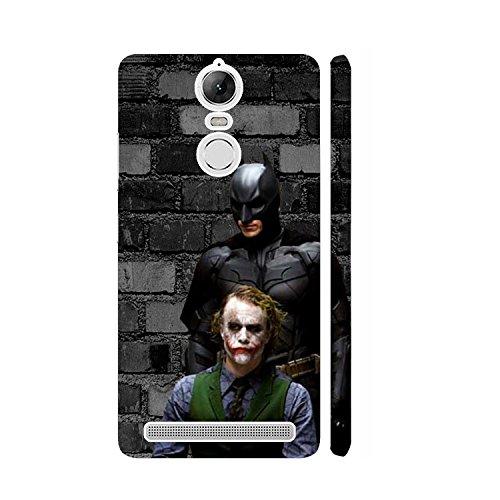 Clapcart Joker Batman Designer Printed Mobile Back Cover for Lenovo Vibe K5 Note / Lenovo K5 Note - Multi-color